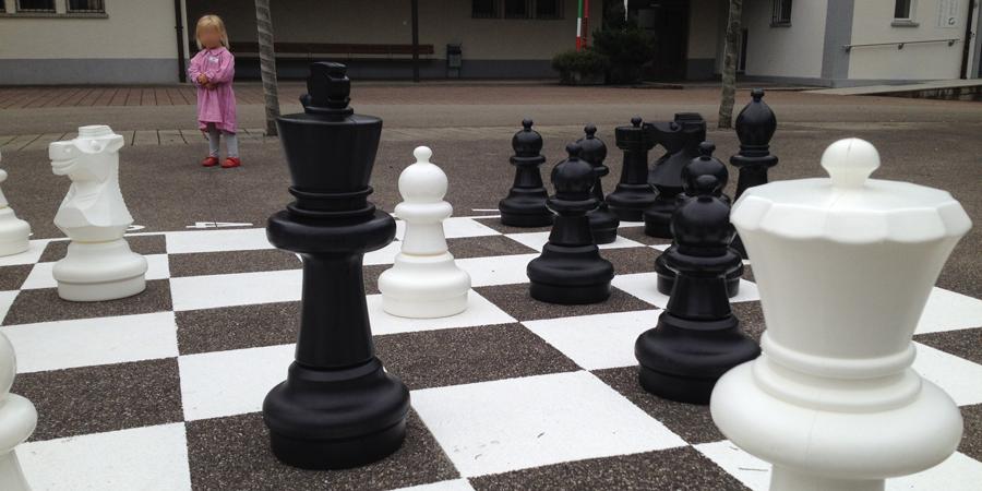 chess board gunslinger - (c) mark somple 2014
