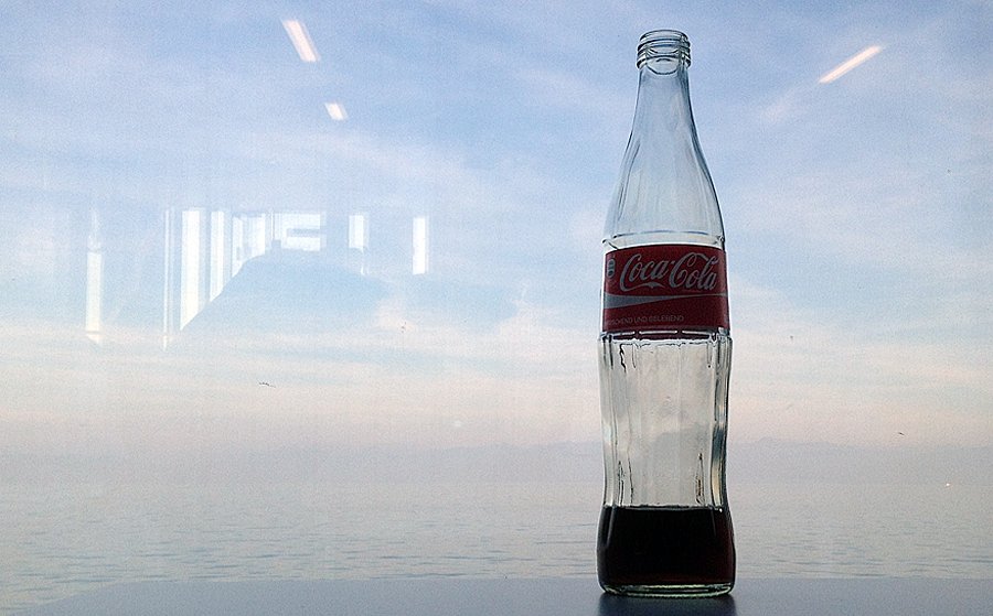 having a coke on a boat (c) mark somple 2014