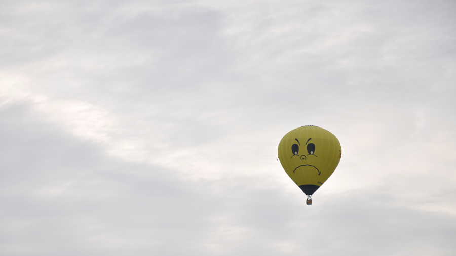 actual balloon in the sky (c) mark somple 2014