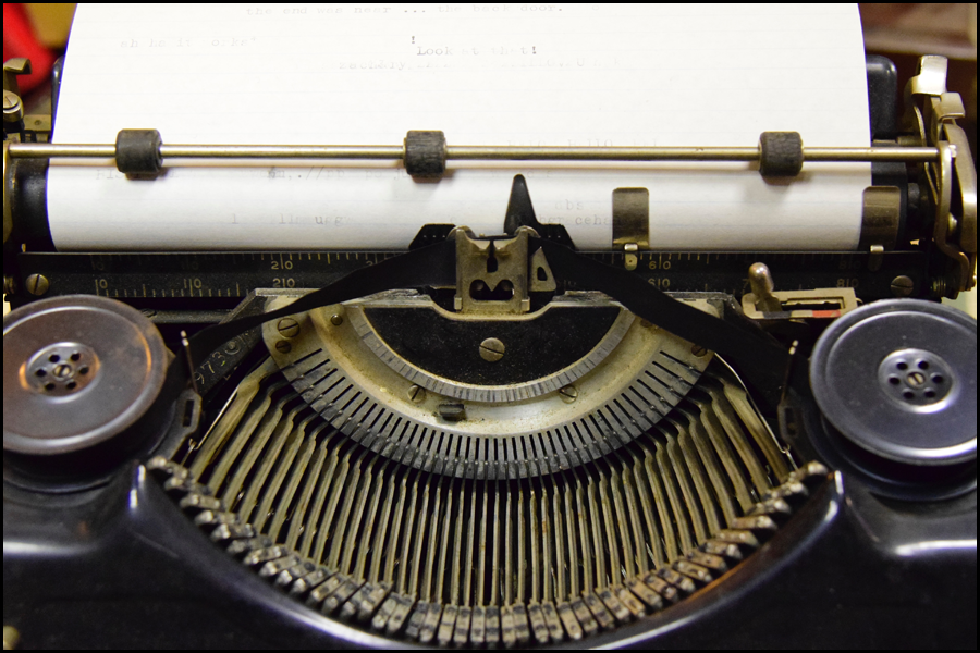 deep reporting - going the way of the typewriter (c) mark somple 2016