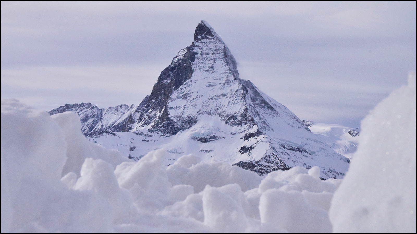 one of my favorite images i ever took of the matterhorn, AFTER a blizzard…simple (c) mark somple 2018