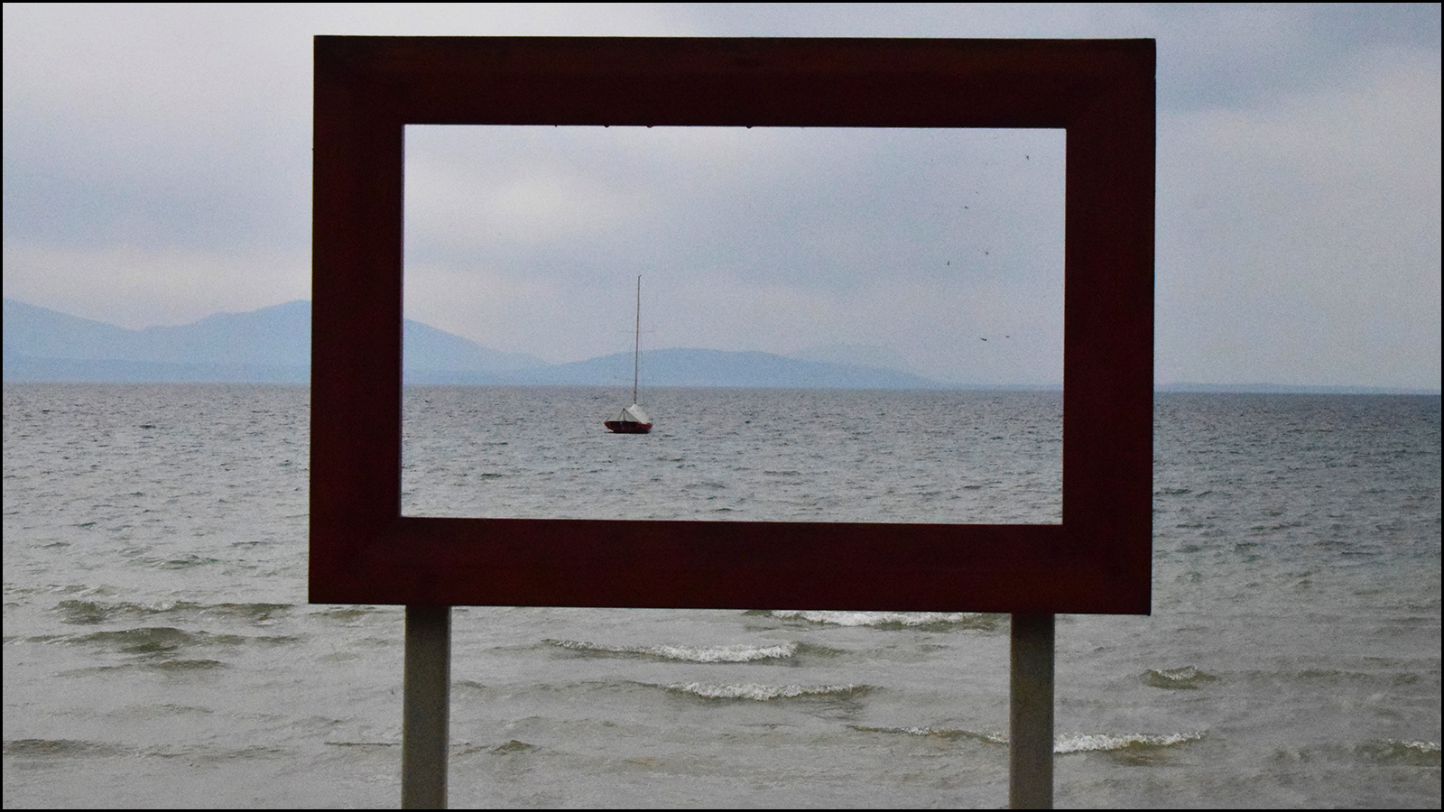 a picture of a picture of a boat - perspective fun (c) mark somple 2019