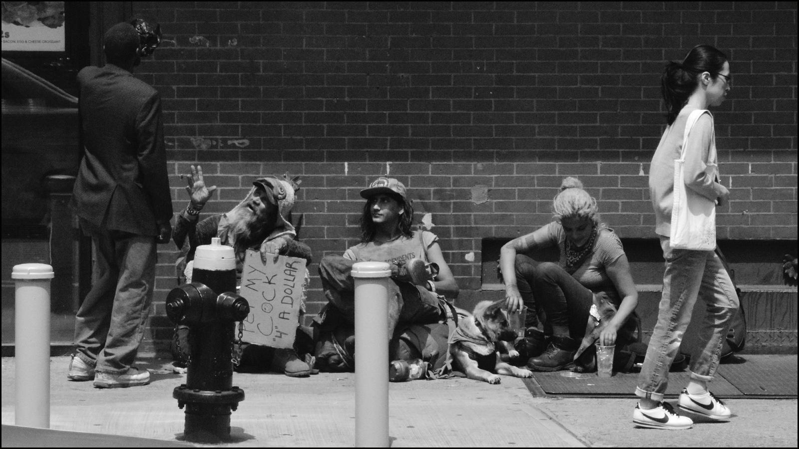 street scene in nyc (c) mark somple 2019