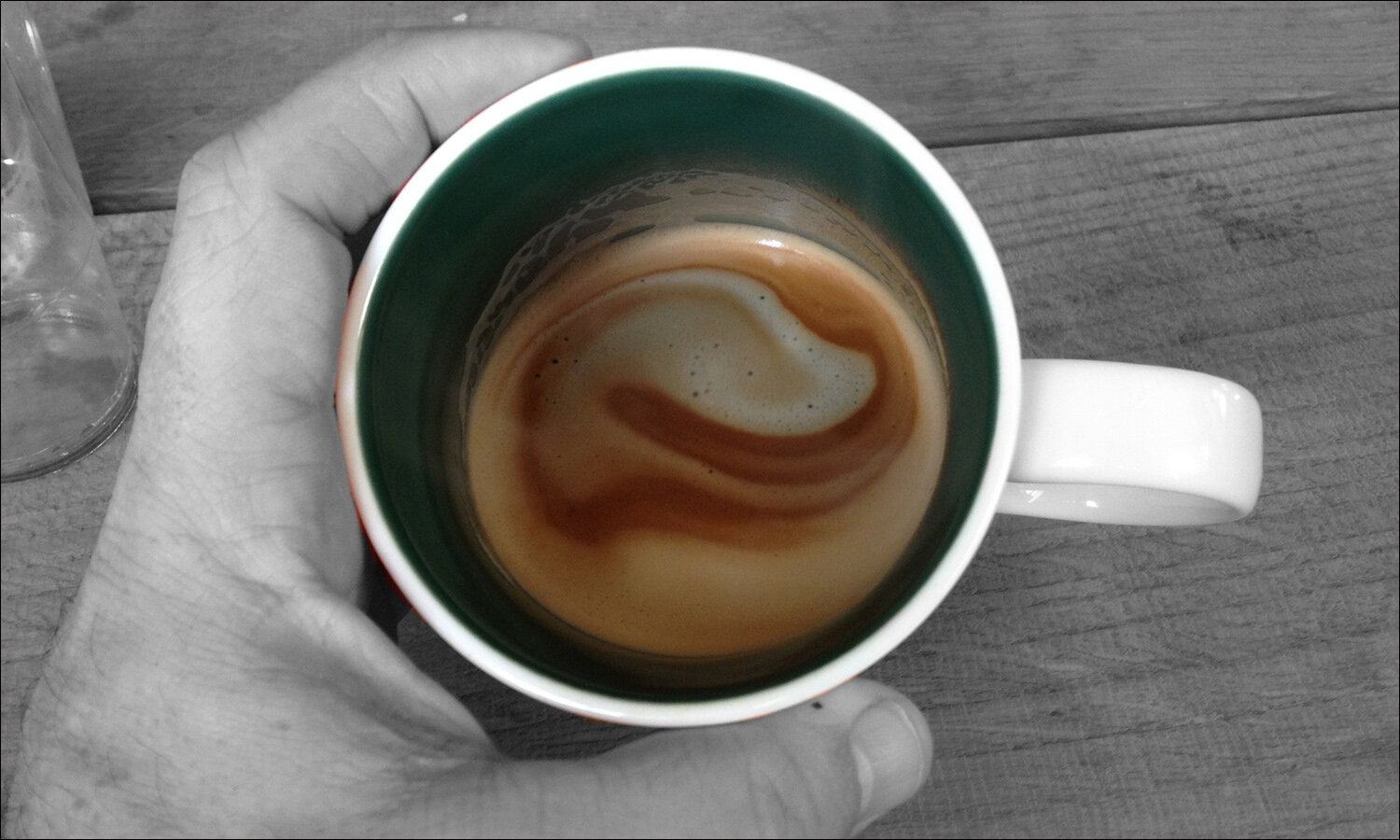 what i miss about european coffee…looking at the crema was like staring into a tiny galaxy (c) mark somple 2019