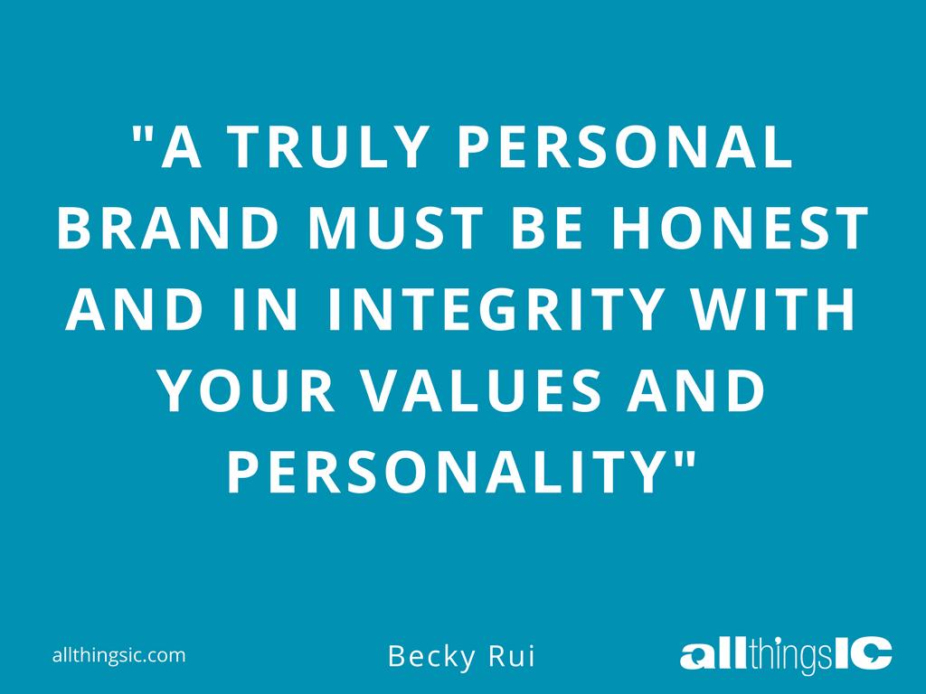 Personal Branding Becky Rui