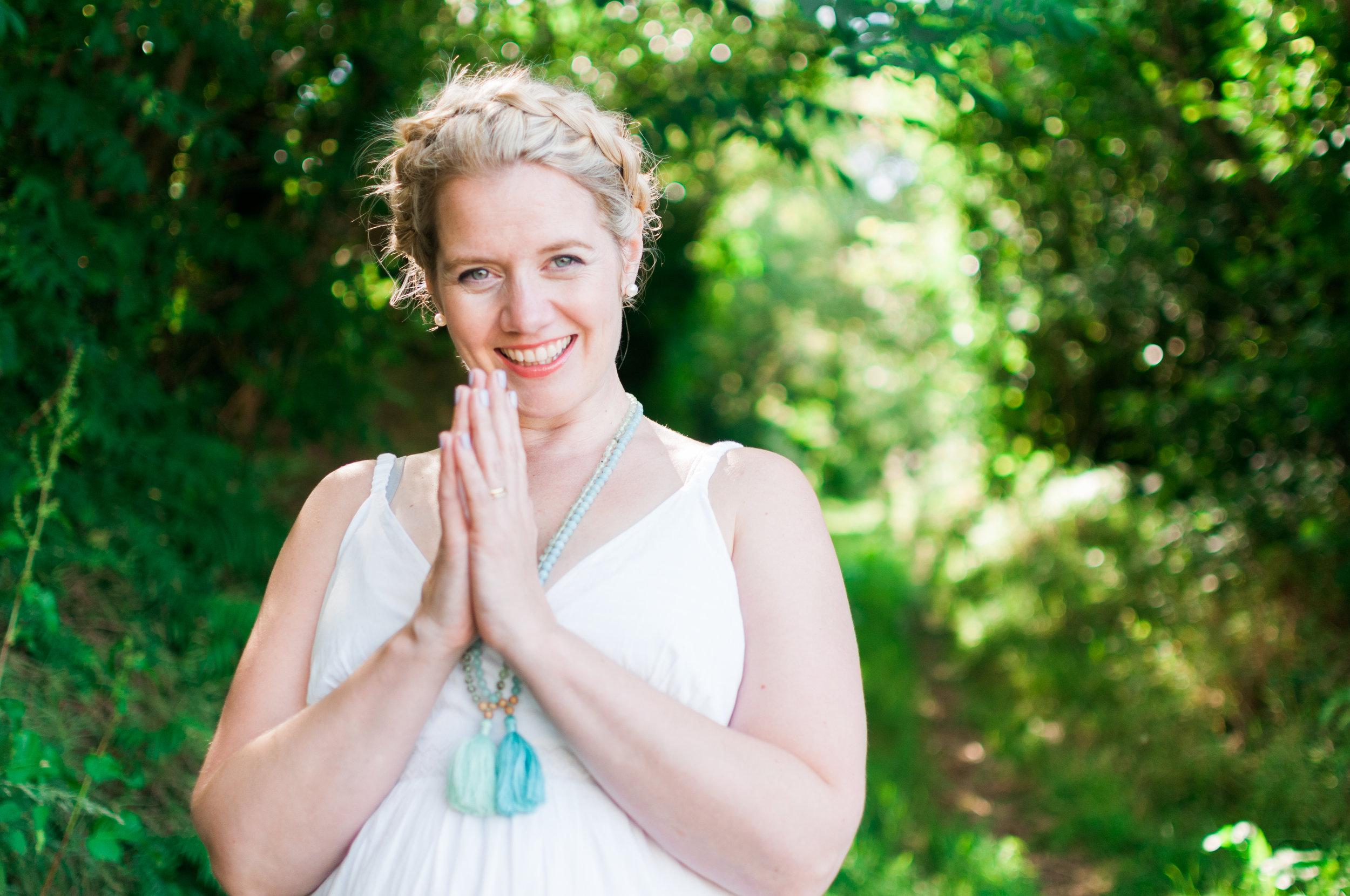 Rachel Yoga Teacher Photography Branding Becky Rui Somerset Devon