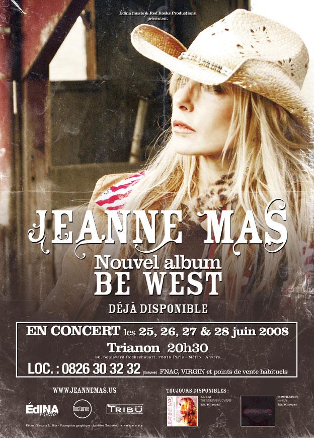 """Publicité Jeanne Mas - """"Be West"""""""