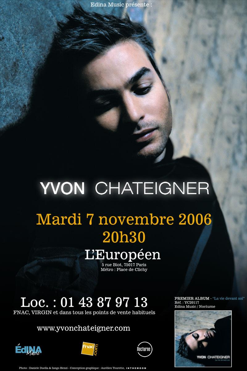 Publicité Yvon Chateigner