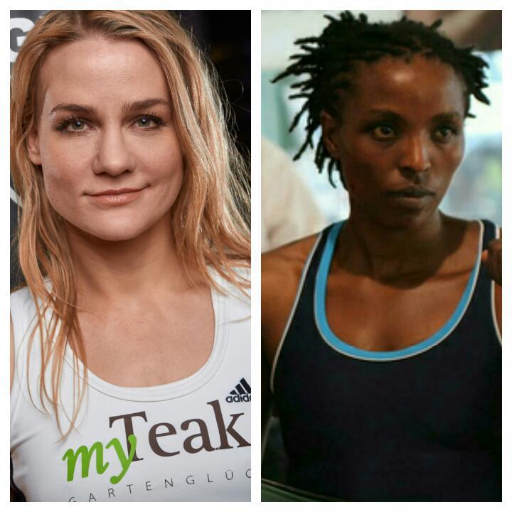 Links: Nicole Wesner (Foto: karlgrabherr.at); Rechts: Florence Muthoni (Quelle: http://mkenyaujerumani.de)