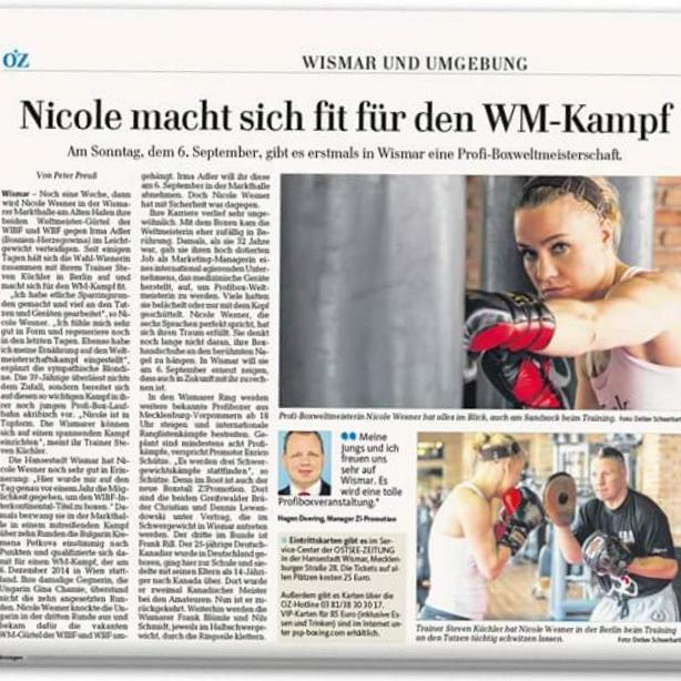 Ostsee-Zeitung 29.8.2015