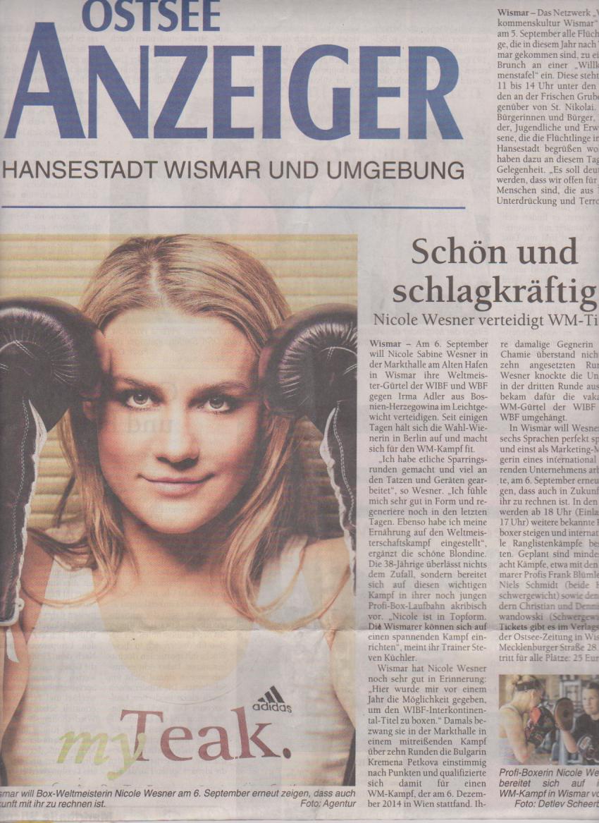 Ostsee-Anzeiger 2.9-8.-9.2015