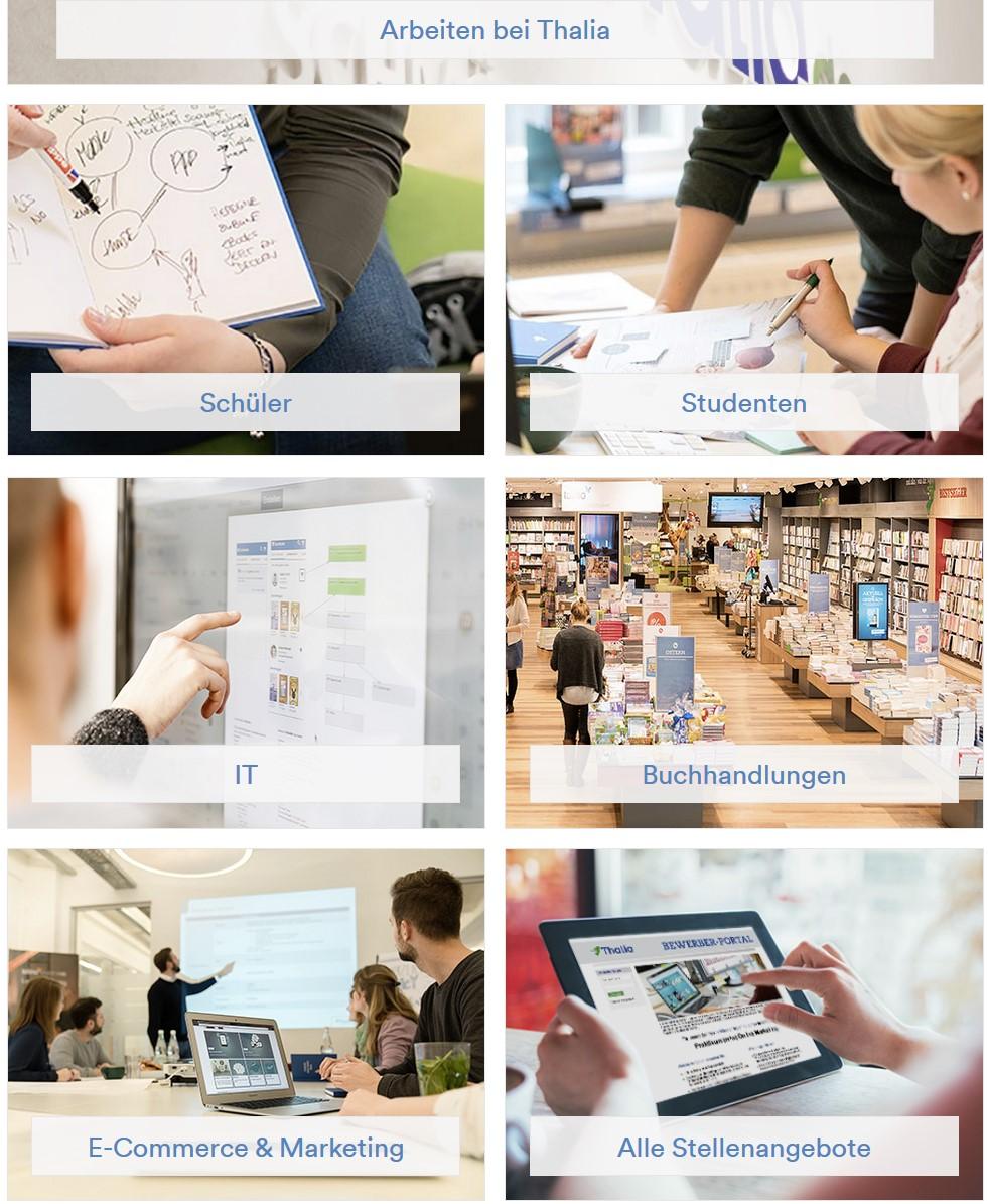 Ergebnisse unseres Fotoshootings bei Thalia Bücher in 2018  Zu sehen sind viele Bilder auf der Karriereseite von Thalie Bücher unter: http://unternehmen.thalia.de/karriere/