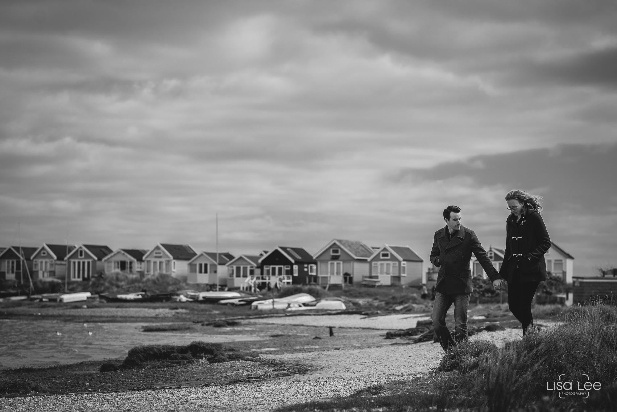creative-documentary-wedding-photography-beach-huts-dorset-black-white.jpg