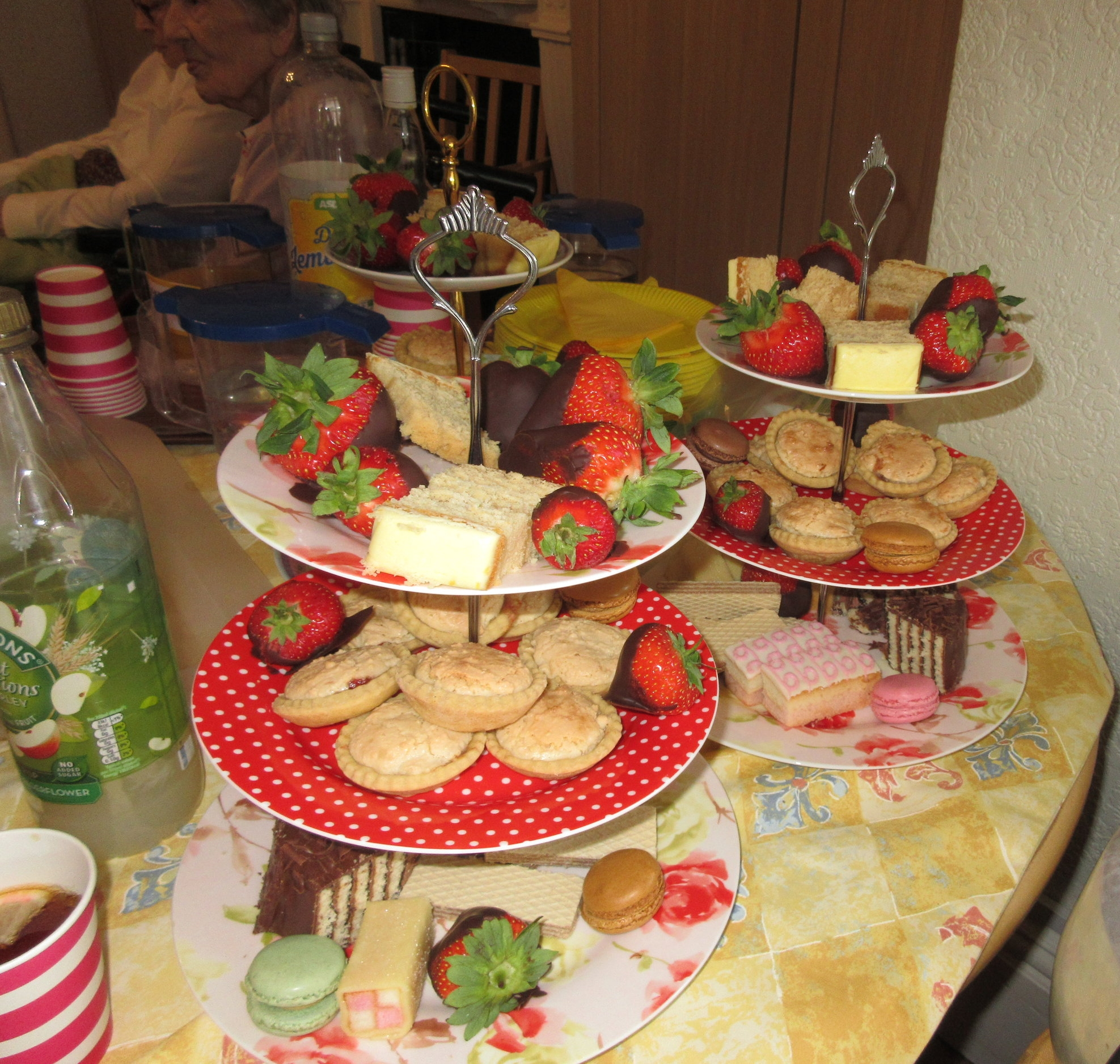 The fundraising included afternoon tea and…