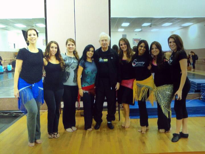 Workshop with the legendary Mahmoud Reda