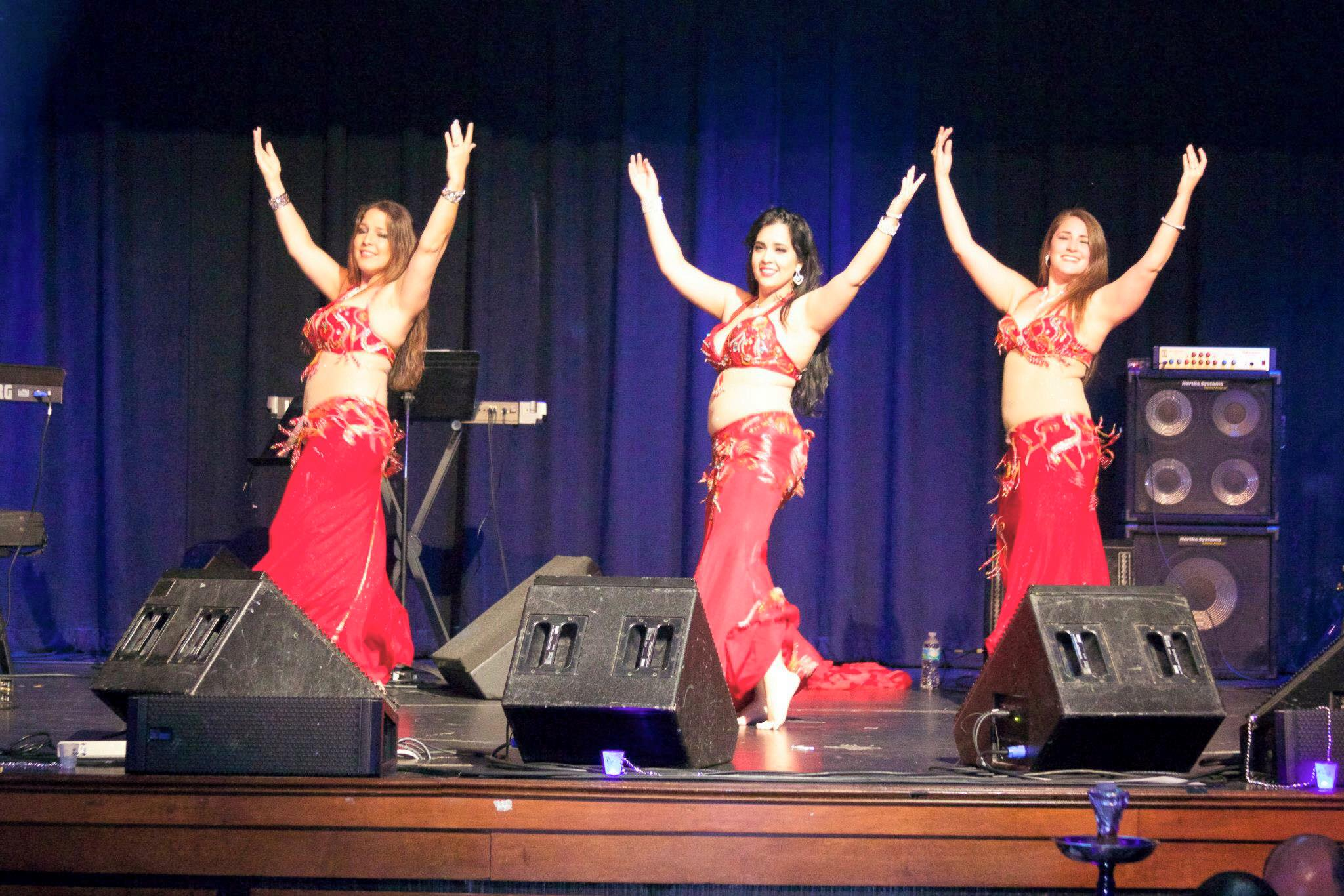 Opening for the famous Arabic singer Najwa Karam