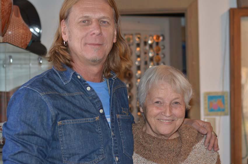 Hasse Lisskog and Andrée Moen  Galleri Shangri La West