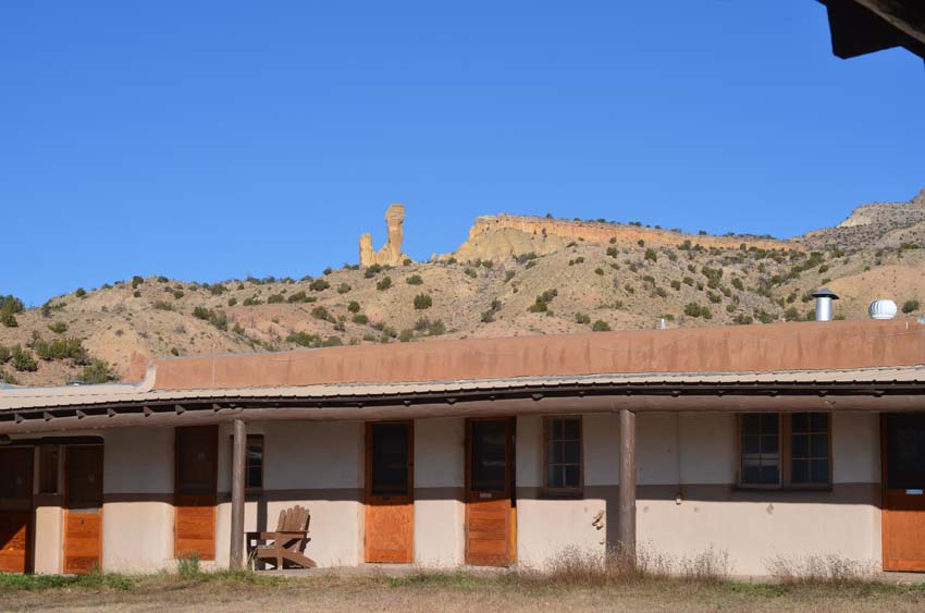 Corral Block, Ghost Ranch
