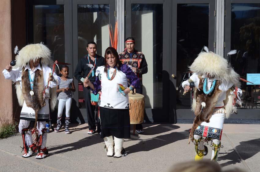 Andrew Garcia Drummers & Dancers  , San Juan Pueblo