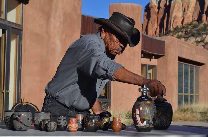 Corn Mohquino, potterymaker