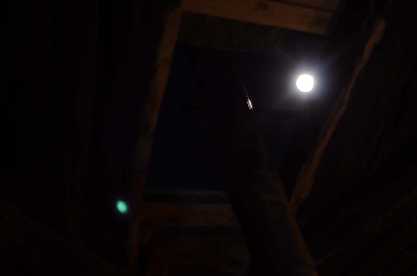 Full moon trough smokehole