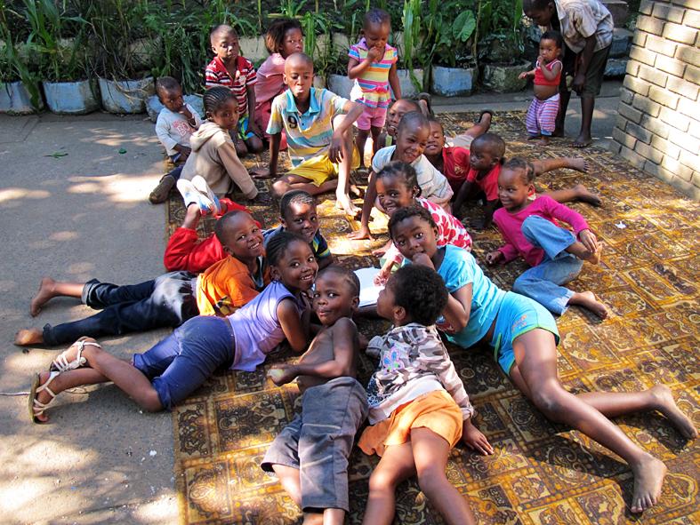 kids in Eshowe