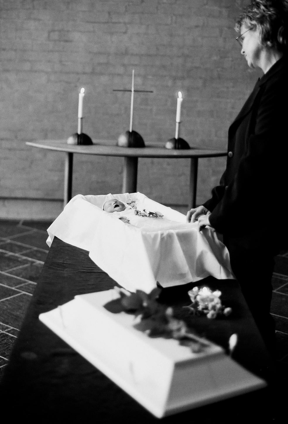 Majken Helena og begravelsesagenten