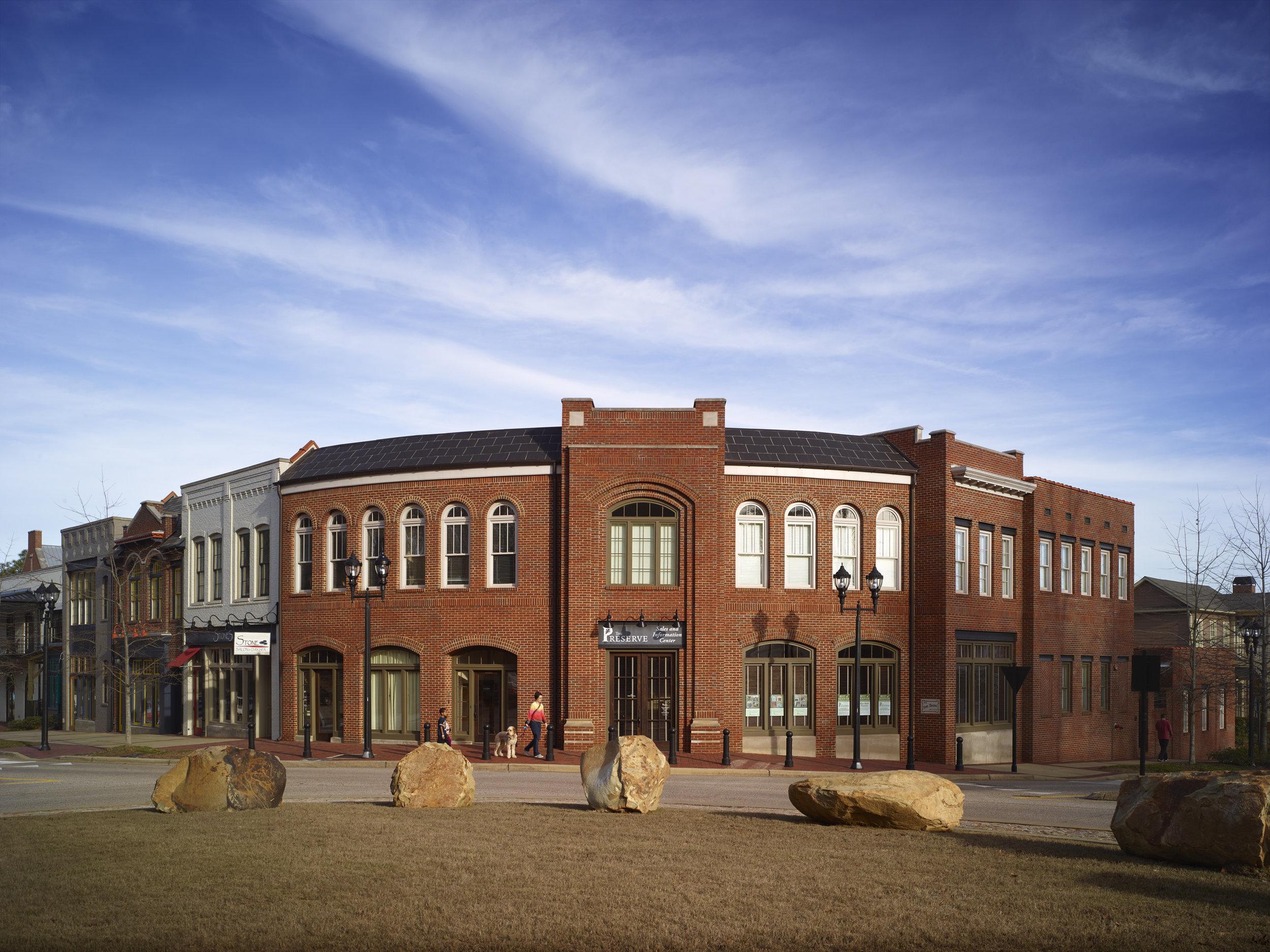 The Preserve Town Center  Nequette Architecture & Design