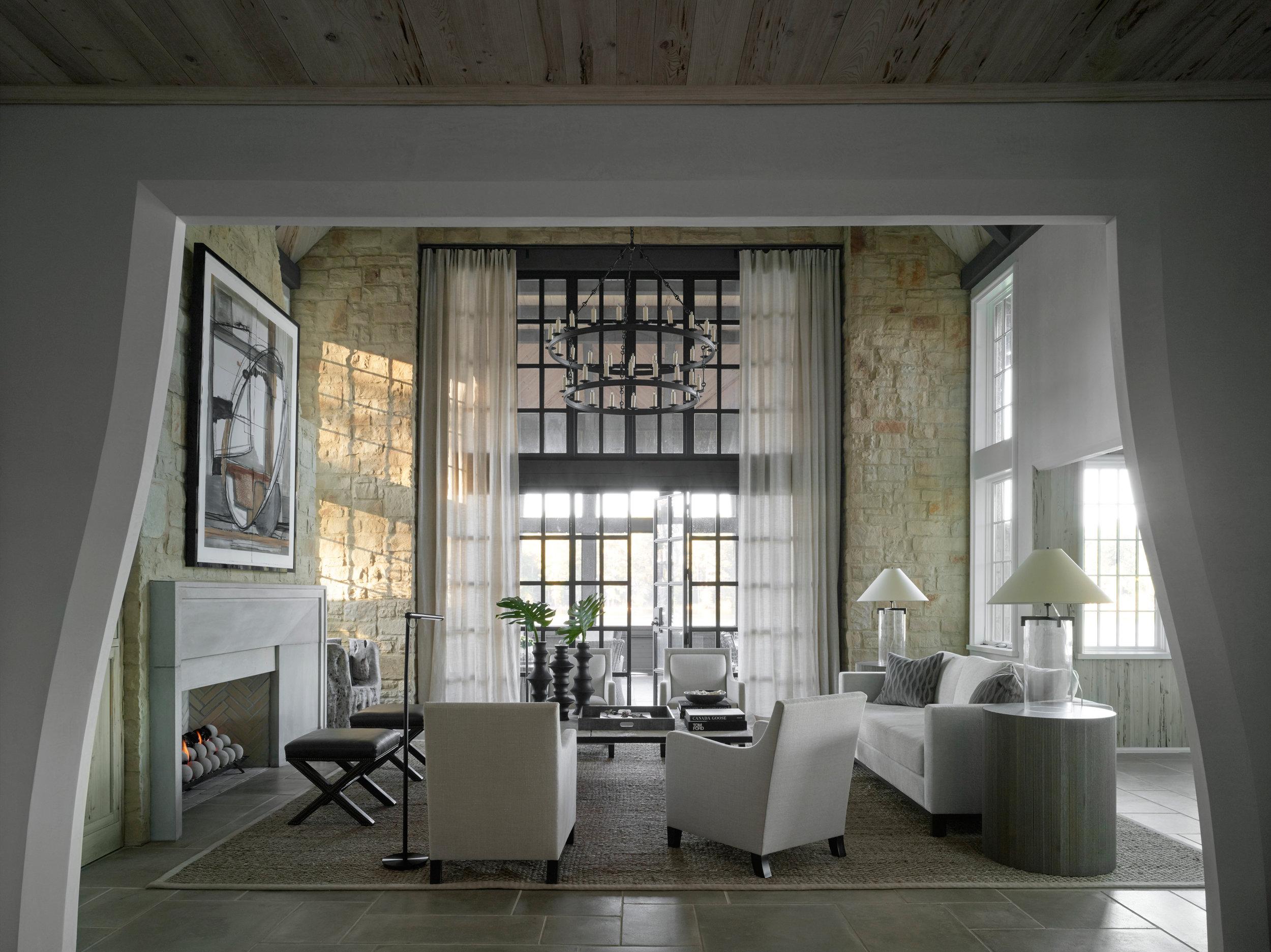 Jeffrey Dungan Architects  Liz Hand Wood Interior Design