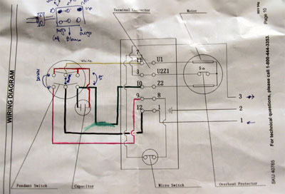 [SCHEMATICS_4HG]  Documentation] Revised: Hacking an AC motor with Arduino — YesYesNo  Interactive projects | Ac Hoist Wiring Diagram |  | YesYesNo