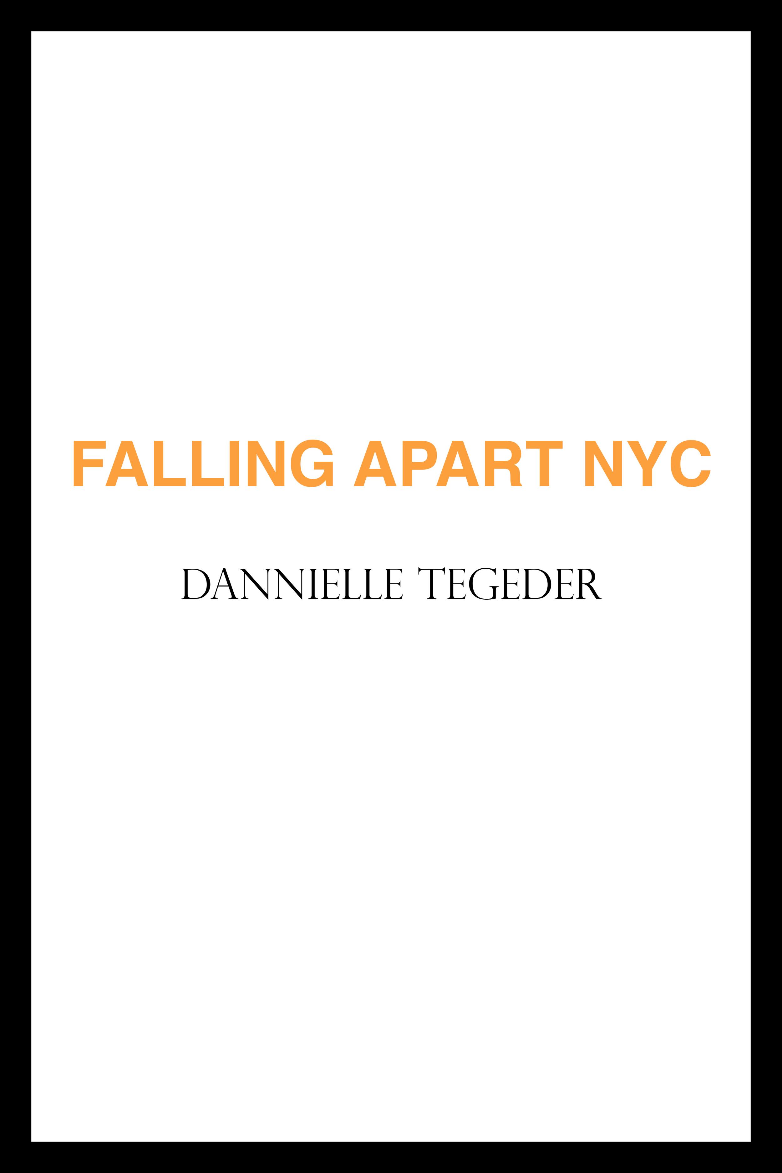 Falling Apart NYC on Ubu Editions