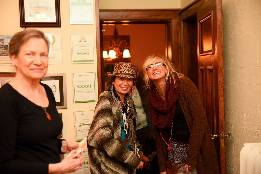 Full moon retreat in January, 2016 held at Greystone Manor B&B.  Photo by Muir Image Photography