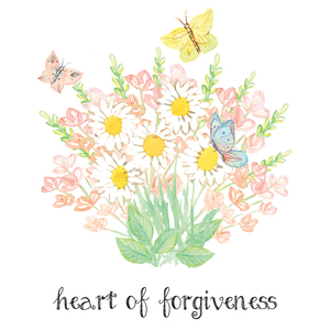Heart of Forgiveness Verse Printable