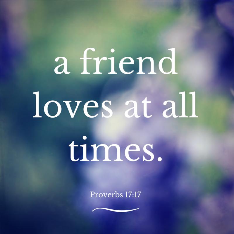 Friendship Verse Printable