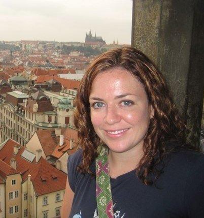 Sue OHora in Prague