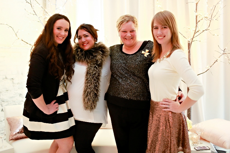The CLF Team (From Left to Right): Johanna Brun, Courtenay Lambert, Jen Shorten, & Allison Stepaniak