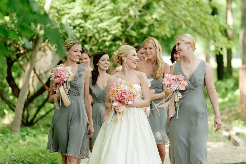 Peterloon Wedding Bridal and Bridesmaid Bouquets