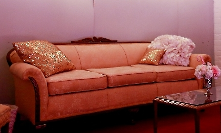 Antique Gold Sofa