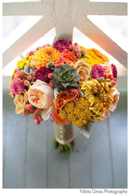 Orange, pink, blush, yellow bouquet with succulents- Courtenay Lambert Florals, www.courtenaylambert.com courtenay lambert florals cincinnati wedding krippendorf lodge nikita gross, Best Cincinnati florist, Best cincinnati wedding florist, best cincinnati florals, cincinnati florist, wedding bouquet, succulent bouquet