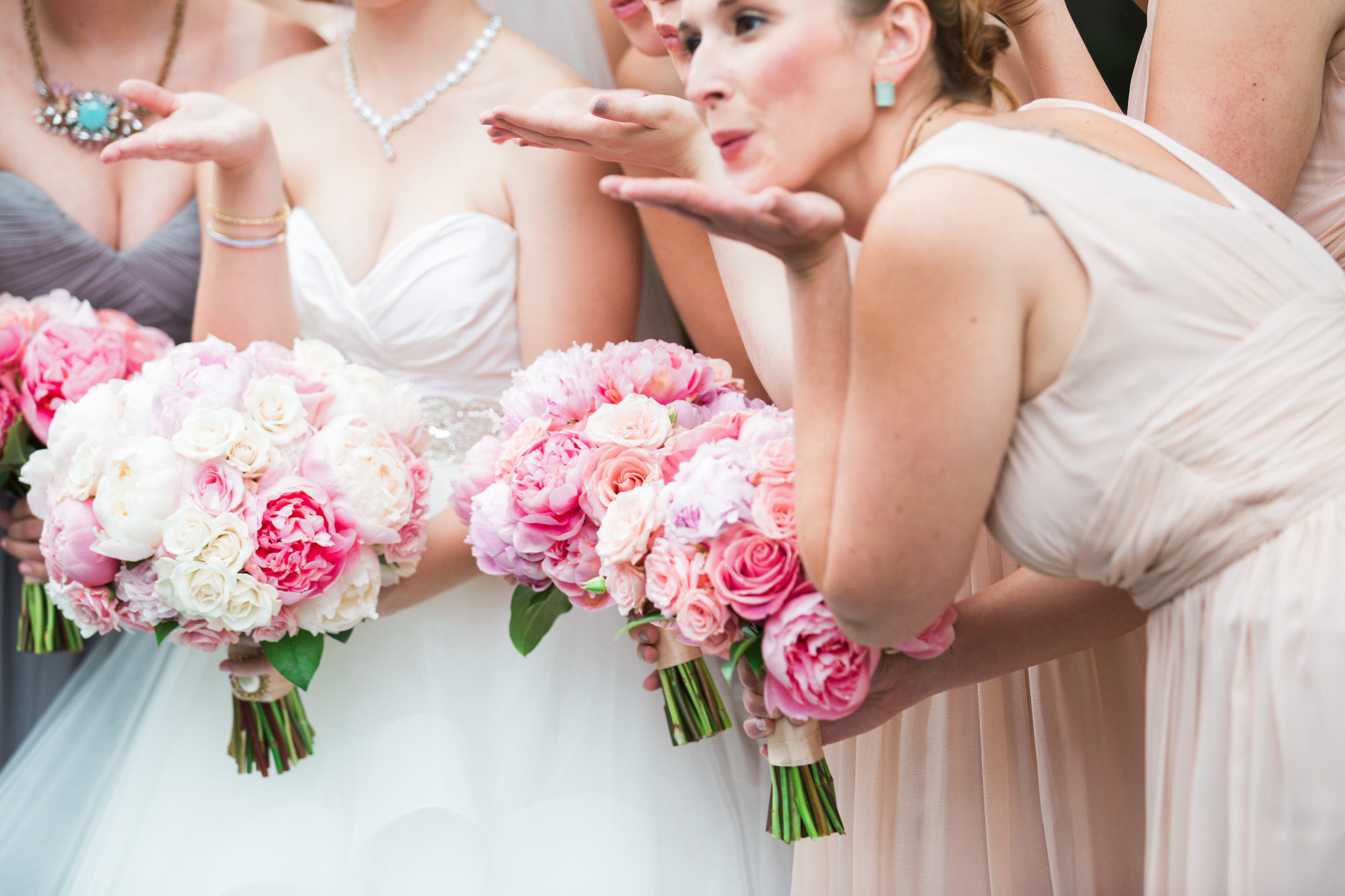 Playful Bridesmaids