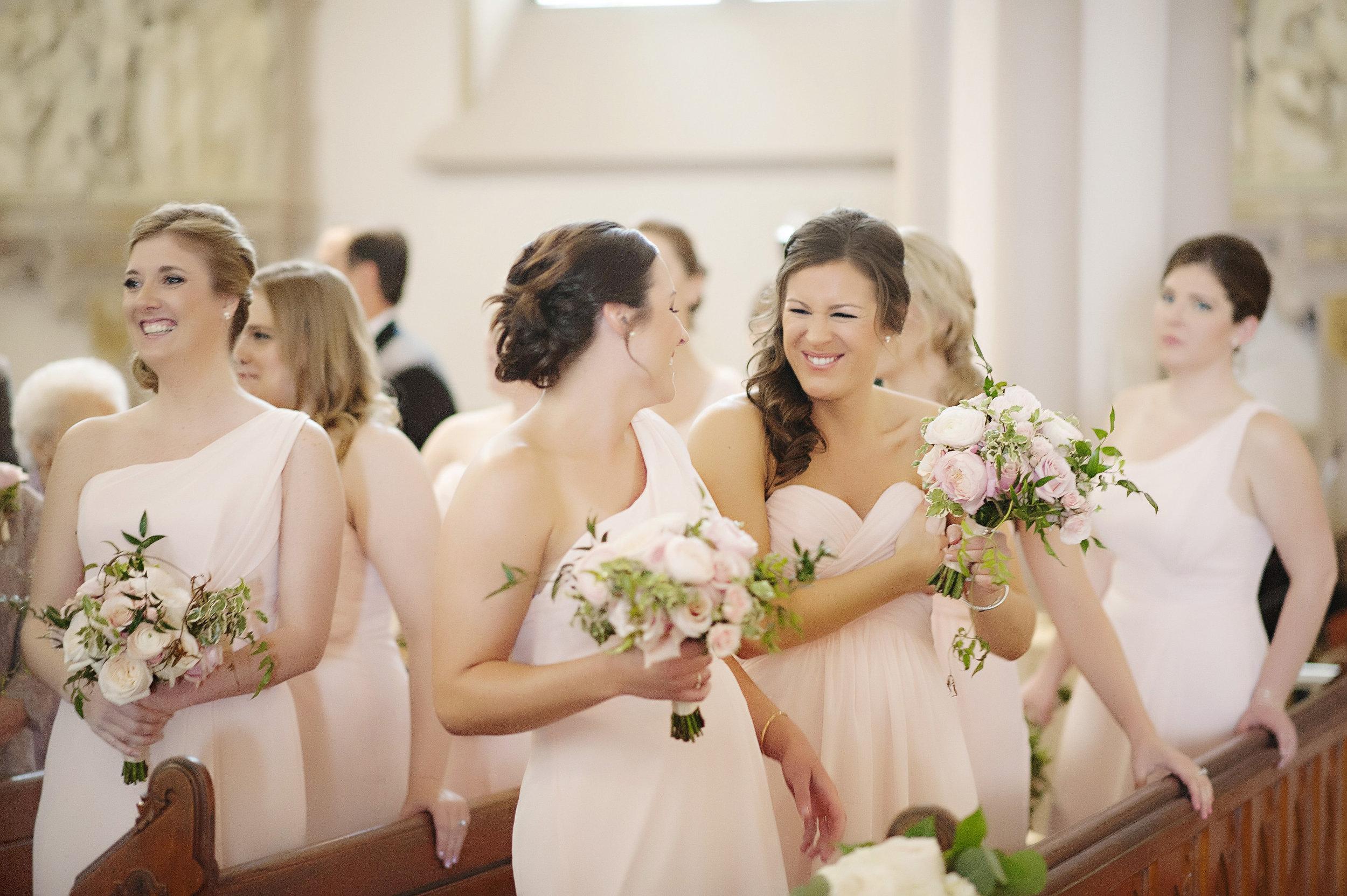 Bridesmaide Bouquet at the Renaissance