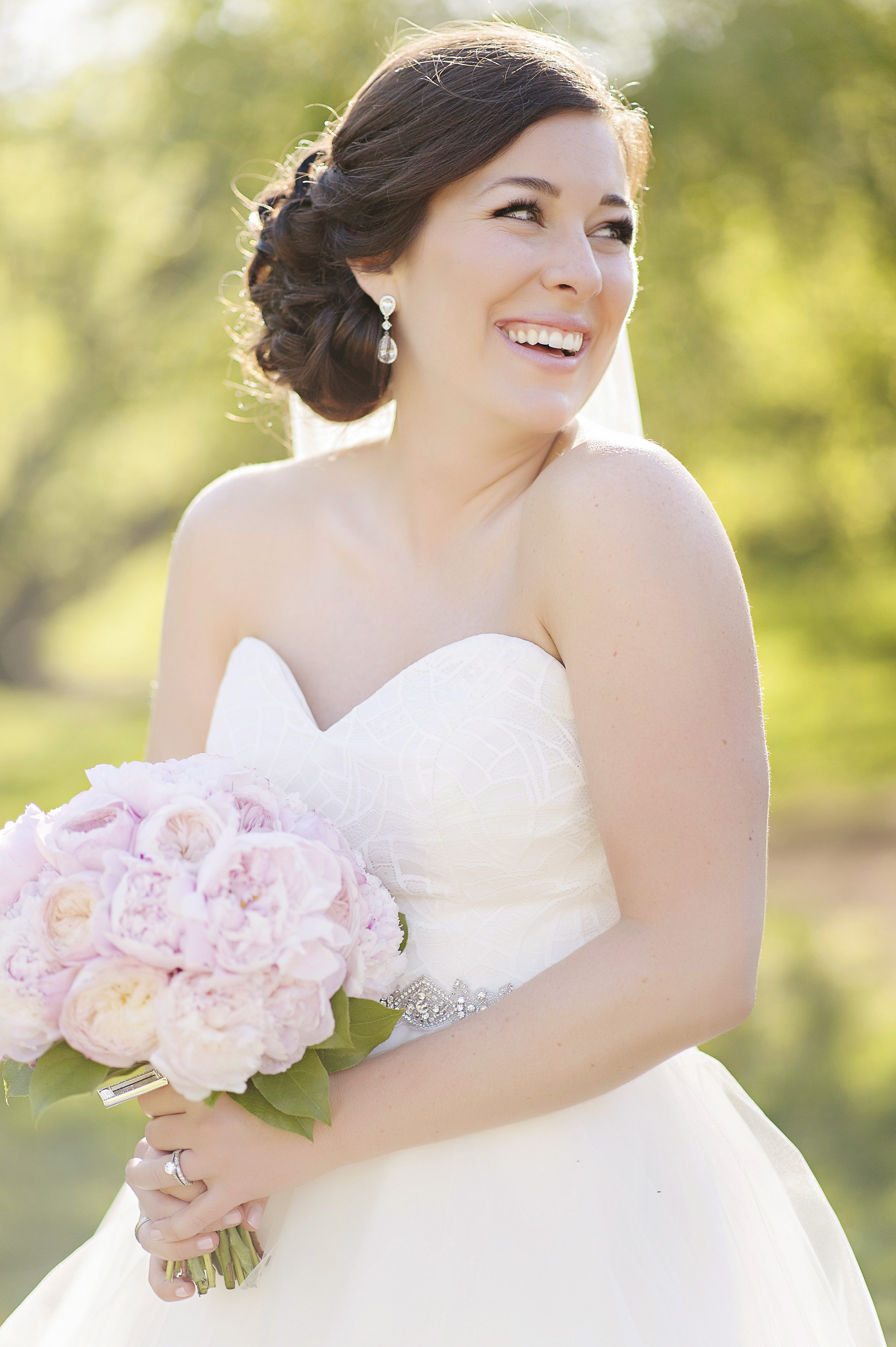 Pink Bride Bouquet Arrangement at The Renaissance