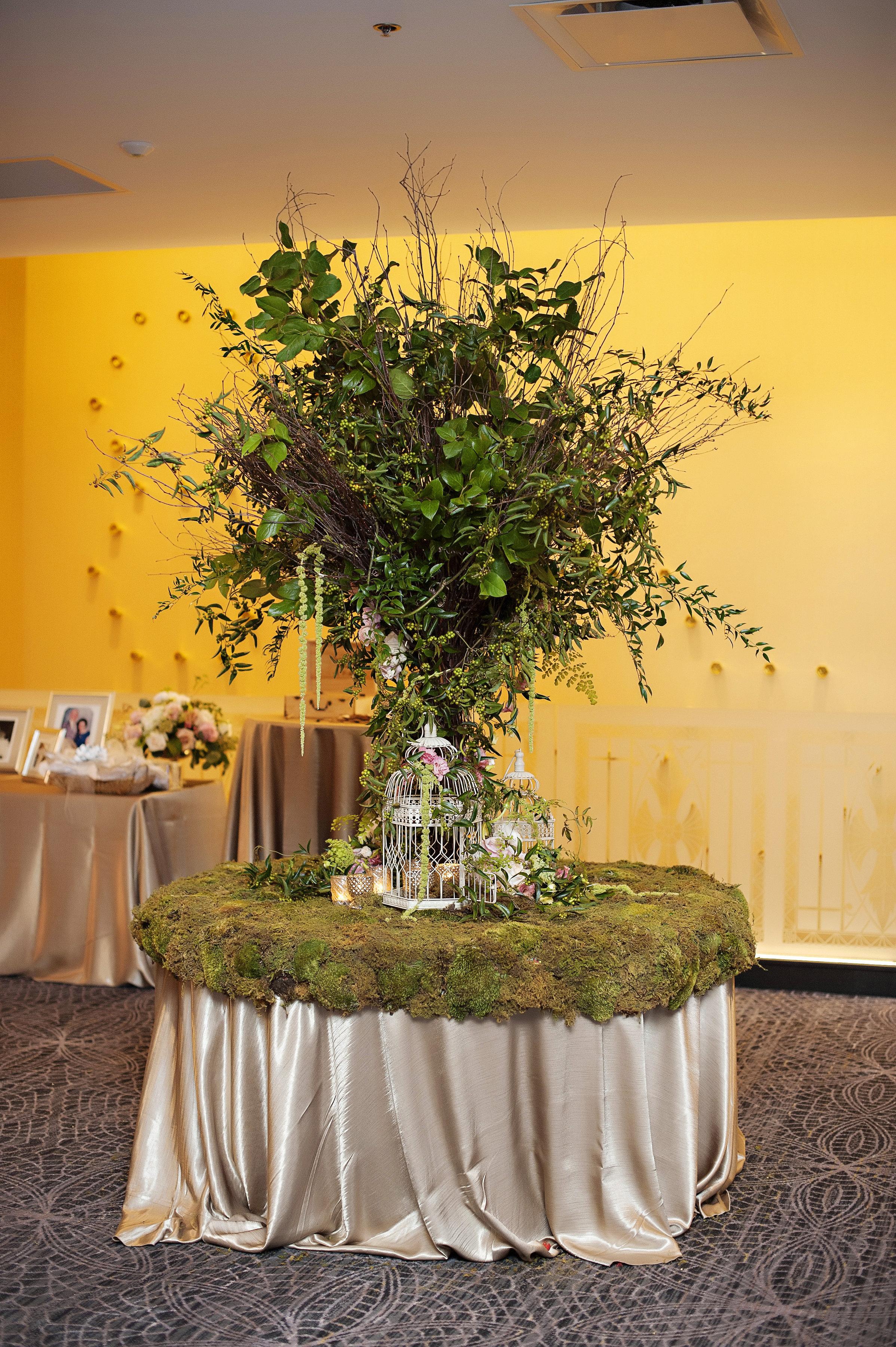 Garden Theme Wedding at the Renaissance
