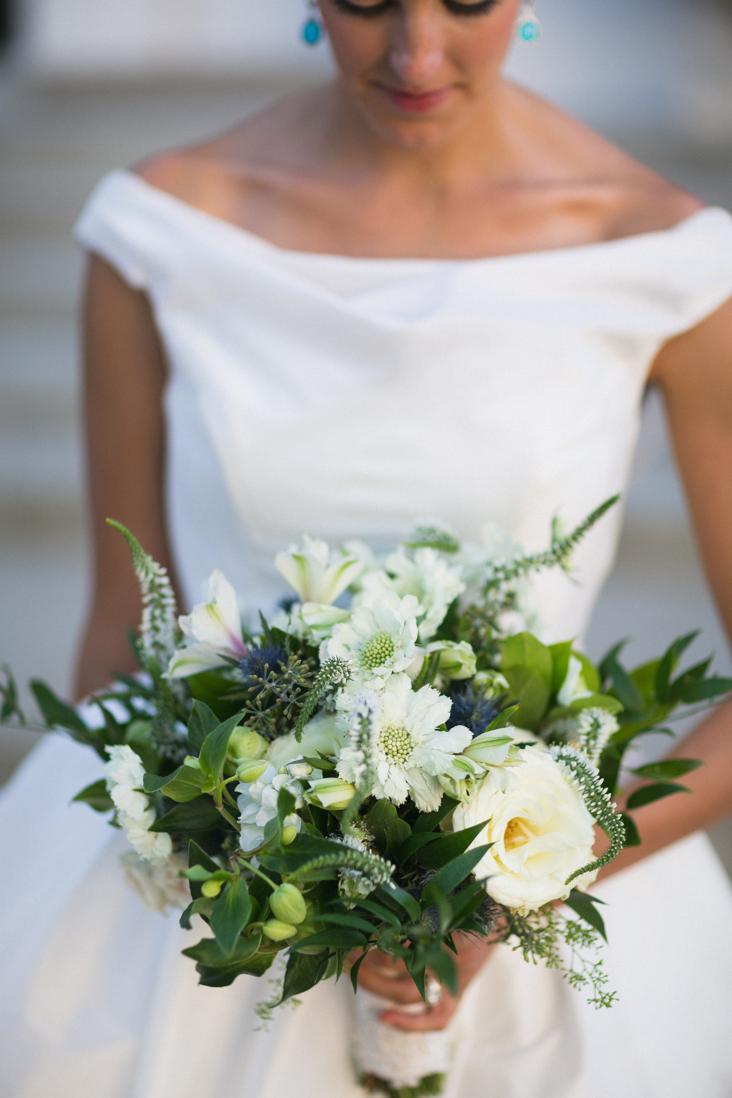 Bridal Bouquet at the Monastery