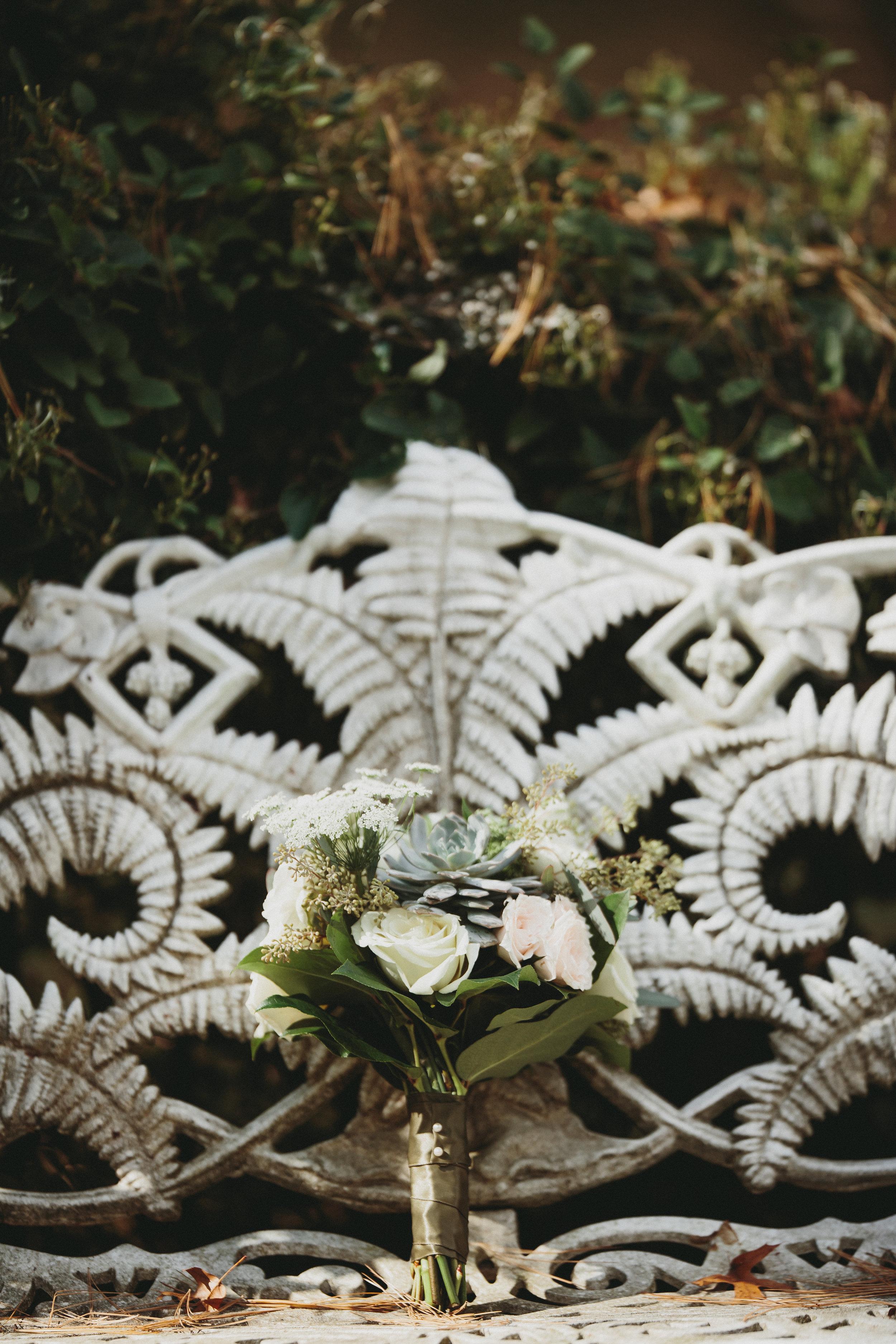 Enchanting bridal bouquet