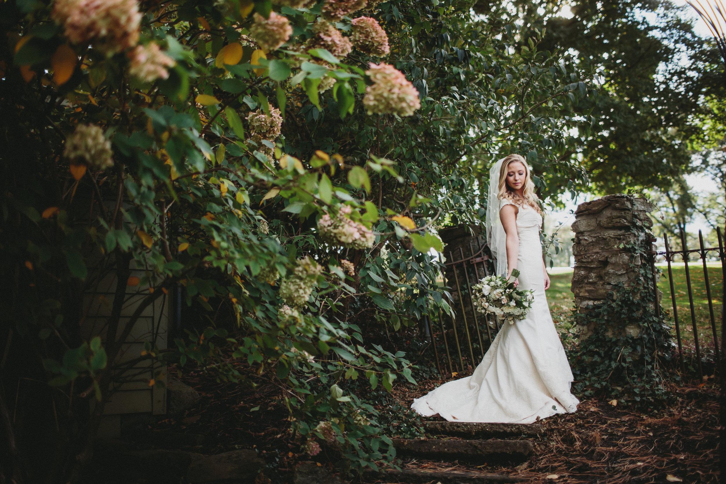 Green and White Wedding photos