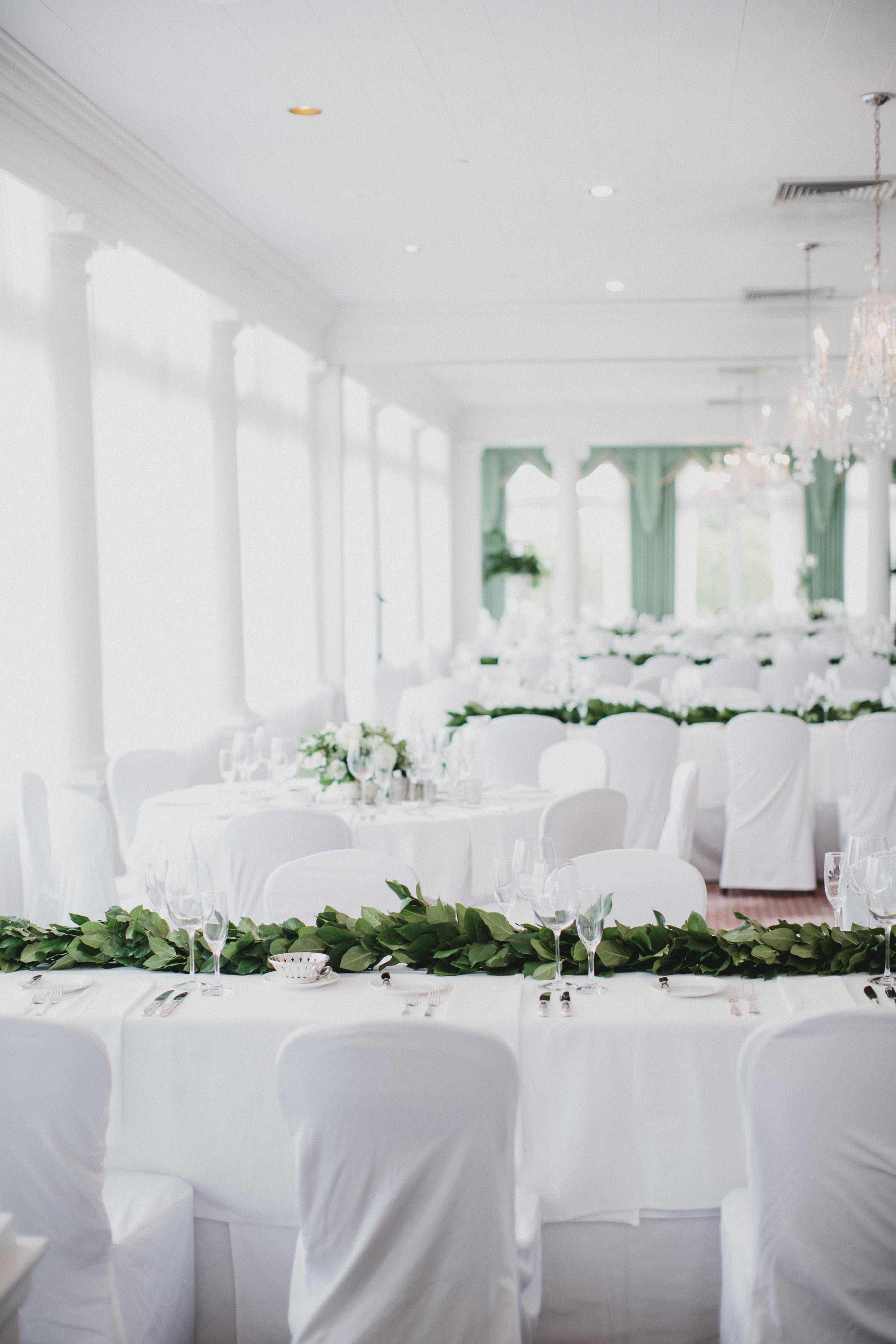 Cincinnati Wedding table design
