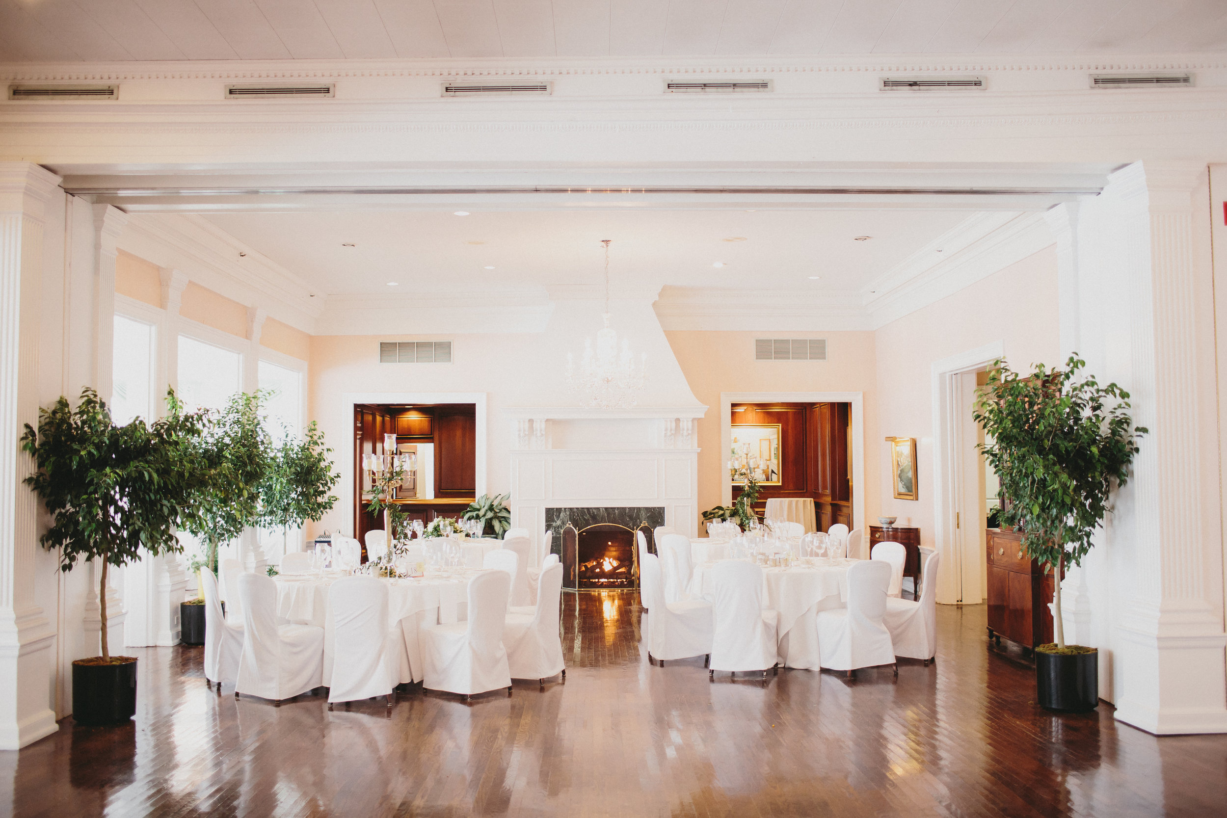 Cincinnati Country Club wedding recpetion