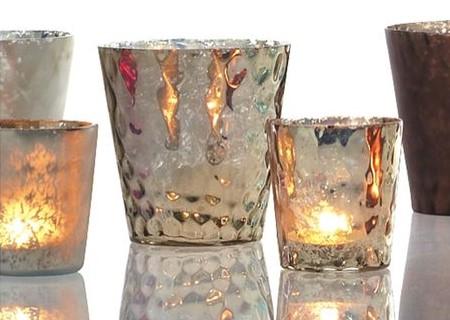 Mercury Glass Votive Rentals by Courtenay Lambert Florals in Cincinnati, OH, candle rentals, cincinnati rentals, cincinnati weddings, cincinnati wedding rentals, best cincinnati florist