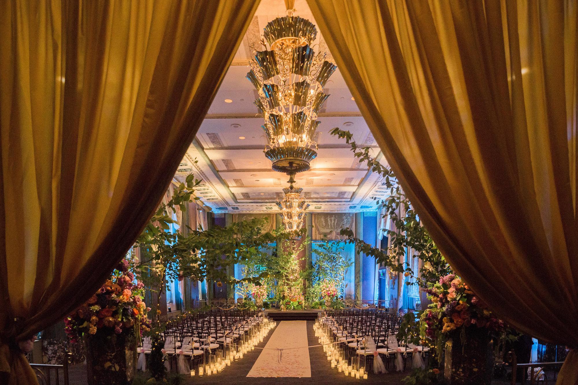 Ceremony at The Hilton Netherland Plaza Hotel Cincinnati, OH